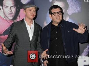 Simon Pegg and Nick Frost The Irish Premiere of 'Paul' held at Cineworld Dublin, Ireland - 10.02.11