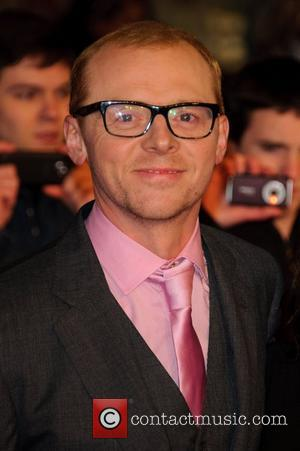 Simon Pegg Paul - UK film premiere held at the Empire Leicester Square - Arrivals London, England - 07.02.11