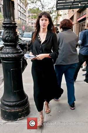 Paz de la Huerta out and about in Tribeca New York City, USA - 27.04.11