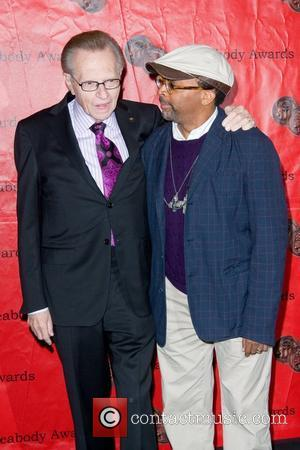 Larry King and Spike Lee