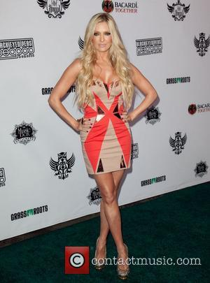 Erika Jayne The Black Eyed Peas & Friends Peapod Benefit Concert held at the Music Box Theater Hollywood, California -...