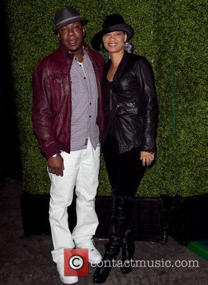 Bobby Brown and Alicia Etheridge The Black Eyed Peas & Friends Peapod Benefit Concert held at the Music Box Theater...