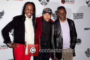 Verdine White and Earth, Wind and Fire The Black Eyed Peas & Friends Peapod Benefit Concert held at the Music...