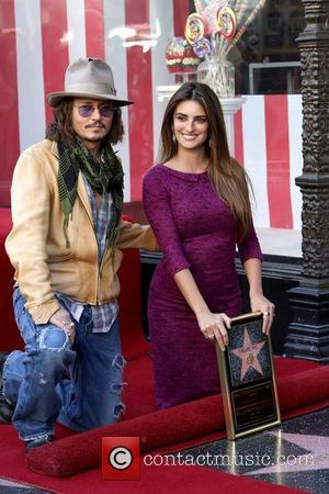 Johnny Depp and Penelope Cruz