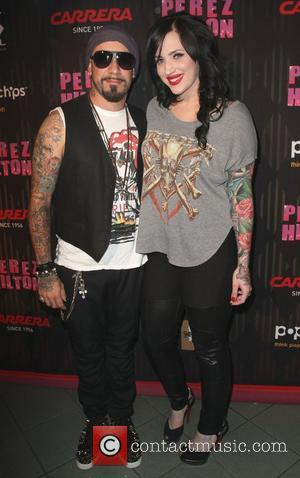 AJ McLean and Rochelle Karidis Carrera Presents Perez Hilton's One Night in Los Angeles held at the Wiltern Theatre Los...