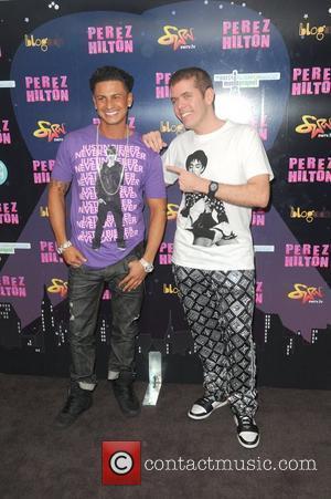 Paul Delvecchio and Perez Hilton