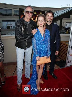 Peter Fonda, Taryn Manning, and Jason Ritter The Perfect Age Of Rock 'N' Roll Los Angeles Premiere held at Laemmle...