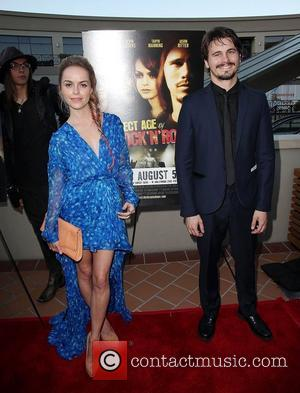 Taryn Manning and Jason Ritter