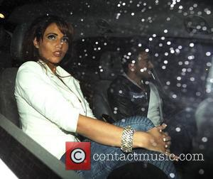 Peter Andre and Amy Childs  stop by a McDonald's drive-thru after leaving The British Soap Awards Manchester, England -...