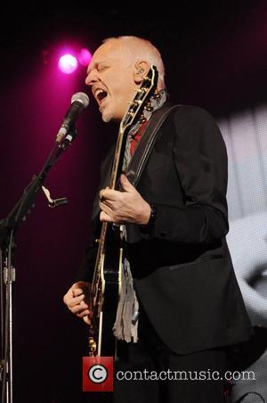 Peter Frampton performs  Frampton Comes Alive 35th Anniversary Tour at The Hammersmith Apollo London, England - 13.11.11