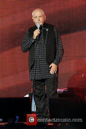 Peter Gabriel performs on stage at the Molson Canadian Amphitheatre during the New Blood 2011 North America Tour.  Toronto,...