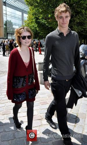 Emily Browning and Max Irons Fashion Week Menswear Spring/Summer 2012 - Louis Vuitton - Arrivals Paris, France - 23.06.11