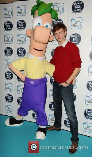 Thomas Sangster The UK premiere of Disney's Phineas and Ferb: Across 2nd Dimension at Apollo Piccadilly Circus London, England -...