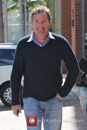 Piers Morgan In Mid-air Drama