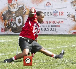 Anthony Mackie     EA Sports Madden NFL 12 Pigskin Pro Am football game held at Bryant Park...