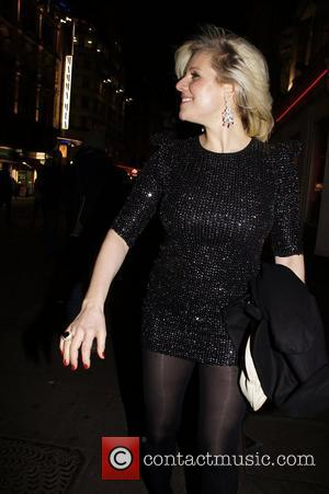 Abi Titmuss Press night for 'My Trip Down The Pink Carpet' at the Apollo Theatre - After Party held at...