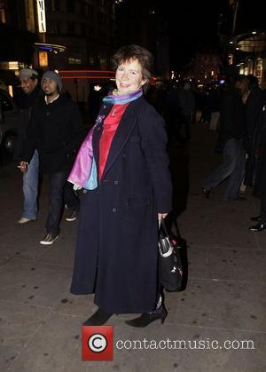 Celia Imrie Press night for 'My Trip Down The Pink Carpet' at the Apollo Theatre - After Party held at...