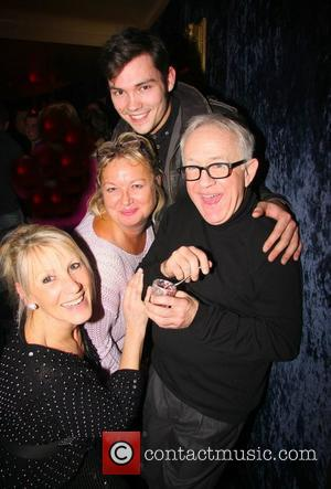 Ingrid Tarrant, Nicola Duffet, Leslie Jordan, Sam Attwater Press night for 'My Trip Down The Pink Carpet' After Party at...