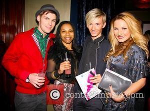 Kieron Richardson Press night for 'My Trip Down The Pink Carpet' After Party at Cafe de Paris - Inside London,...