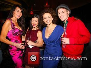 Lizzie Cundy, Hayley Tamaddon, Kieron Richardson and Pink