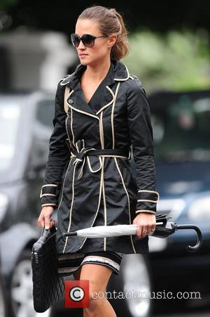 Pippa Middleton on her way to lunch London, England - 26.08.11