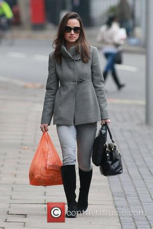 Pippa Middleton heading to work in west London London, England - 21.11.11