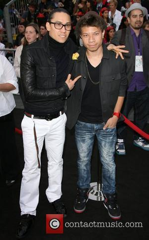 Taboo of 'The Black Eyed Peas' and son 'Pirates Of The Caribbean: On Stranger Tides' World Premiere held at Disneyland...