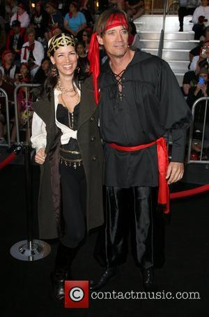 Kevin Sorbo and Guest 'Pirates Of The Caribbean: On Stranger Tides' World Premiere held at Disneyland Anaheim, California - 07.05.11
