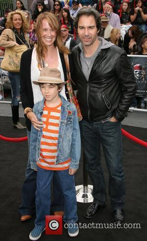 Eric McCormack and family 'Pirates Of The Caribbean: On Stranger Tides' World Premiere held at Disneyland Anaheim, California - 07.05.11