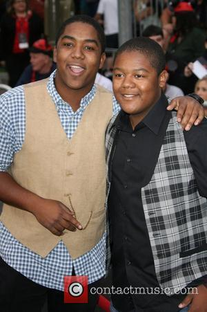 Chris Massey and Kyle Massey 'Pirates Of The Caribbean: On Stranger Tides' World Premiere held at Disneyland Anaheim, California -...