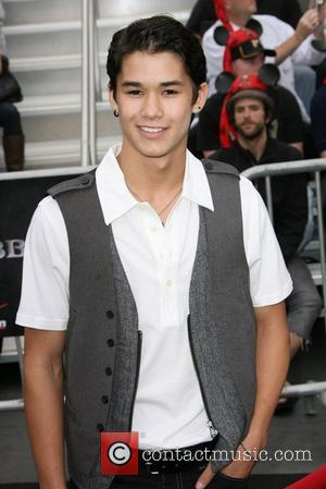 Boo Boo Stewart and Shay Mitchell