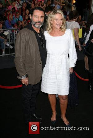 Ian McShane and wife Gwen Humble 'Pirates Of The Caribbean: On Stranger Tides' World Premiere held at Disneyland Anaheim, California...