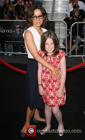 Jennifer Grey and daughter Stella 'Pirates Of The Caribbean: On Stranger Tides' World Premiere held at Disneyland Anaheim, California -...