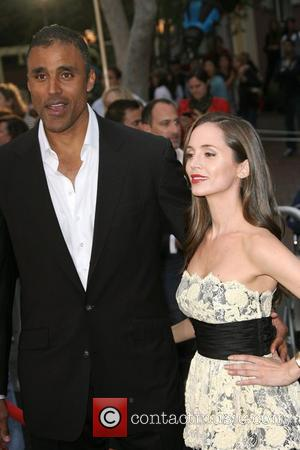 Rick Fox and Eliza Dushku 'Pirates Of The Caribbean: On Stranger Tides' World Premiere held at Disneyland Anaheim, California -...