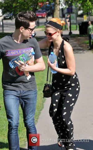 Pixie Geldof and Nick Grimshaw