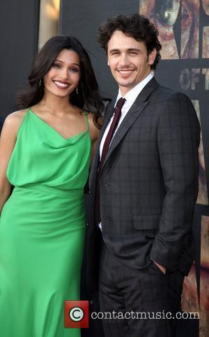 Freida Pinto and James Franco
