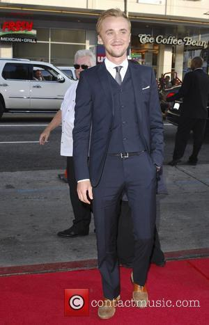 Tom Felton,  at the premiere of 20th Century Fox's 'Rise Of The Planet Of The Apes' held at Grauman's...