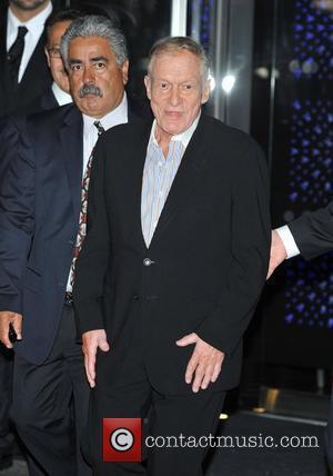 Hugh Hefner Playboy Club London Gala Opening Event held at the Playboy Club in Mayfair - Arrivals. London, England -...