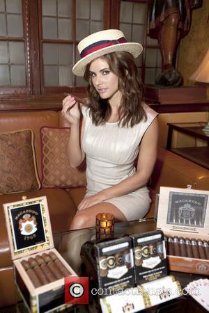 Playboy Playmate Alison Waite kicks off Macunudo Millionare Promotion at Club Macunudo  New York City, USA - 24.08.11,