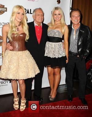 Crystal Harris, Hugh Hefner, Anna Berglund, David Cassidy Playboys Playmate of the Year 2011 at Moon Nightclub at The Palms...