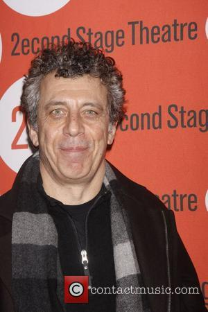 Eric Bogosian Opening night of the Second Stage Theatre production of 'Gruesome Playground Injuries' at the Second Stage Theatre -...