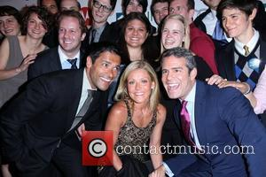 Mark Consuelos, Kelly Ripa and Andy Cohen The Point Foundation's '4th Annual Point Honors New York Gala', held at Capitale...