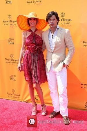 Model Delfina Blaquier and Nacho Figueras,  at the 2011 Veuve Clicquot Polo Classic at Governor's Island. New York City,...
