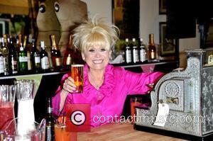 Barbara Windsor Just Avoids Wardrobe Malfunction