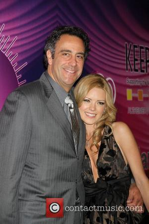 Brad Garrett, Isabella Quellas Memory Alive: Power Of Love Gala held at the Bellagio Resort and Casino - Arrivals...
