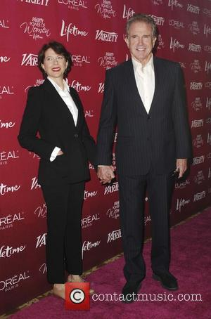 Warren Beatty and Annette Bening Variety's 3rd Annual Power Of Women luncheon at the Beverly Wilshire Four Seasons Hotel Los...