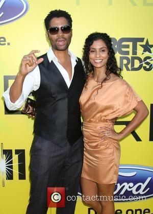 Eric Benet and fiancee Manuela Testolini  BET networks chairman Debra L. Lee hosts 5th annual pre-BET awards celebration dinner...