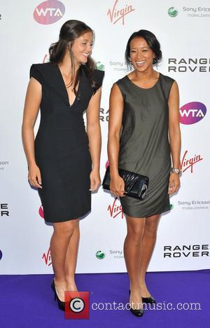 Anne Keothavong and Laura Robson Pre-Wimbledon Party held at The Roof Gardens - Arrivals London, England - 16.06.11