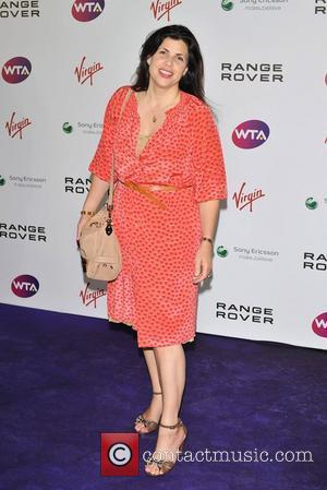 Kirstie Allsopp Pre-Wimbledon Party held at The Roof Gardens - Arrivals. London, England - 16.06.11