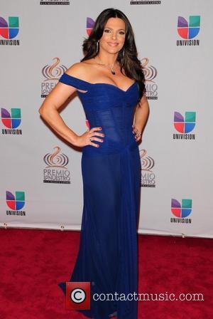 Barbara Bermudo  Univision's Premio Lo Nuestro a La Musica Latina Awards at American Airlines Arena  Miaim, Florida- 17.02.11